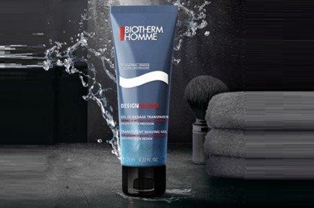 biotherm homme design shaver
