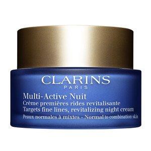 clarins multi active nuit creme legere vitalite jeunesse