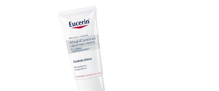 eucerin atopicontrol creme rosto peles atopicas