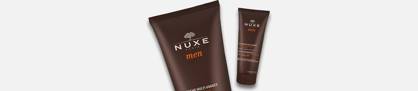 nuxe men shower gel