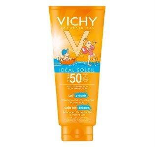 vichy capital soleil leite crianca spf50