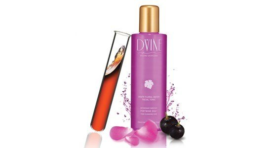 dvine tonico facial agua floral uva