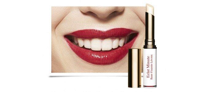 clarins eclat minute base labios fixante batom