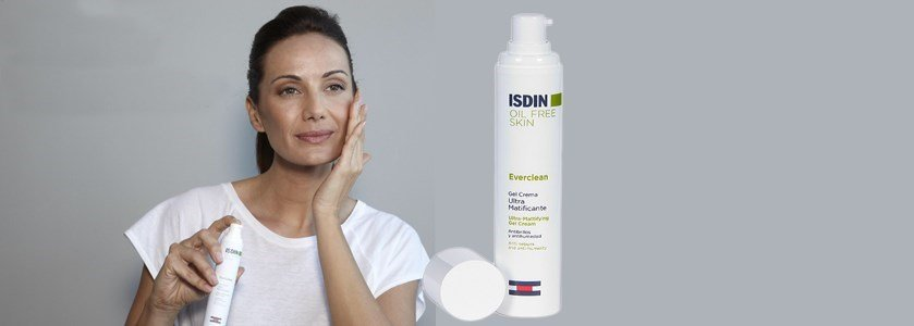 isdin everclean gel creme ultra matificante