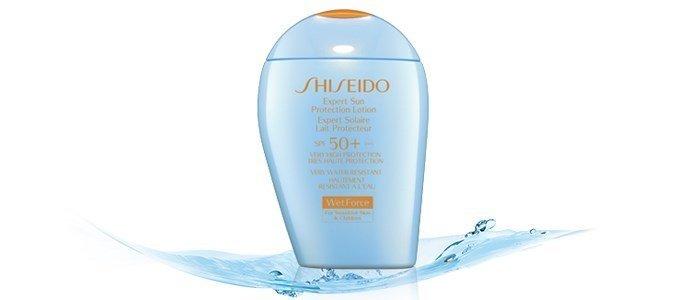 shiseido ultimate sun protection lotion wetforce spf50