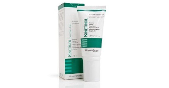 martiderm kinetinol creme gel antirrugas antimanchas potente