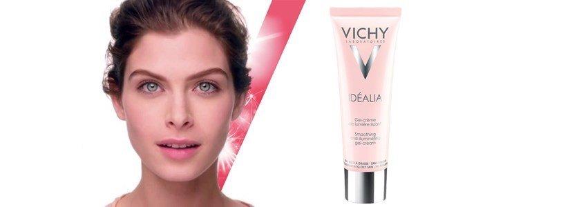 vichy idealia gel creme iluminador matificante pele mista oleosa
