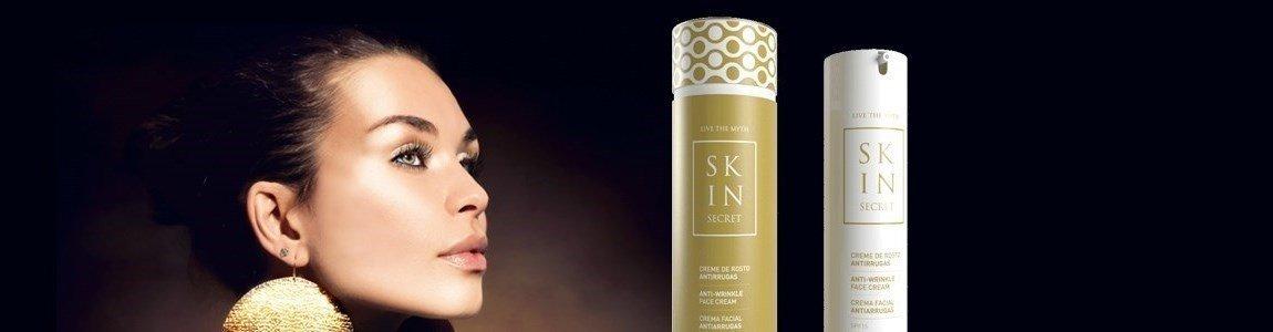 skin secret creme rosto antirrugas perda firmeza