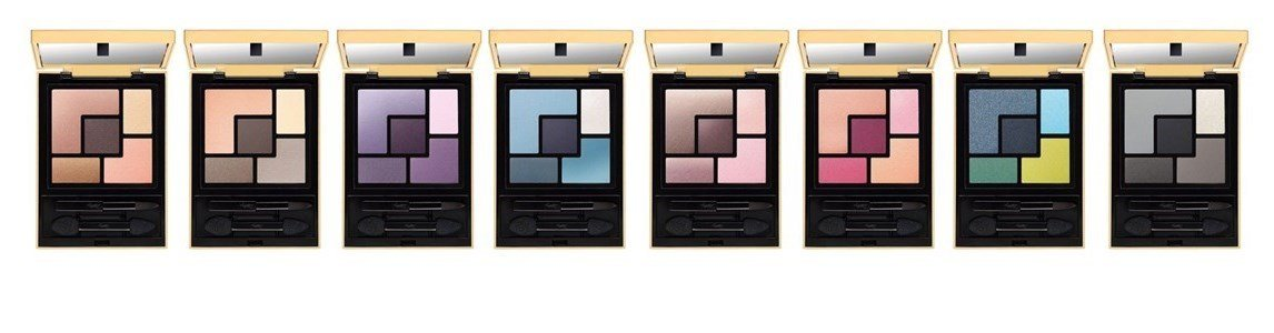 yves saint laurent couture palette 5 sombras olhos