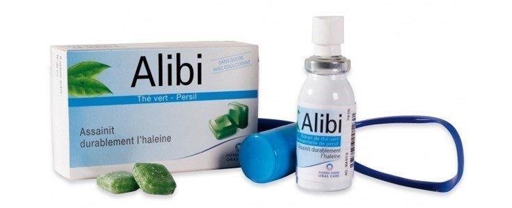 alibi raspador lingua pastilhas spray halitose