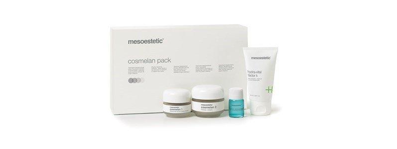 mesoestetic cosmelan pack tratamento