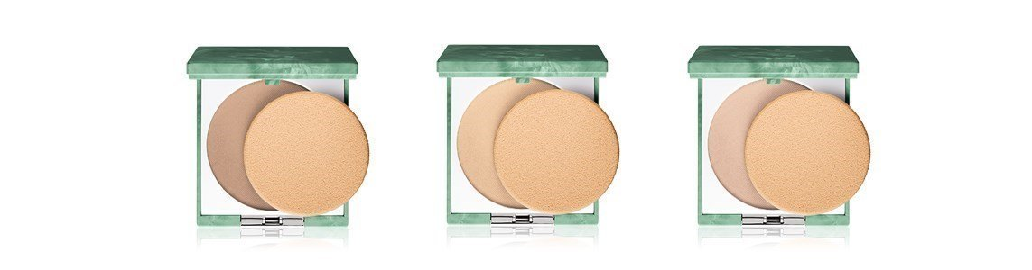 clinique super powder double face powder matte