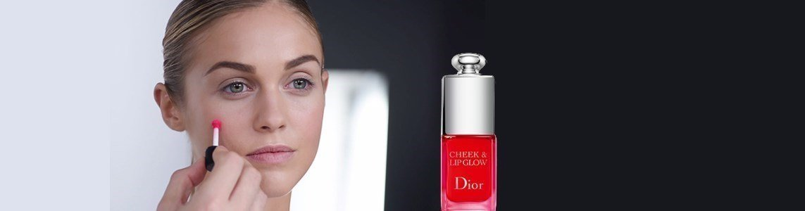 dior cheek lip glow