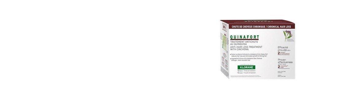 klorane quinaforte 12 ampolas