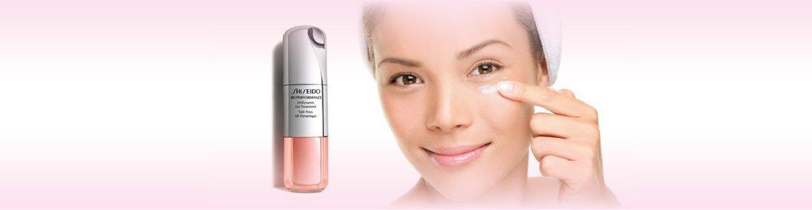 shiseido creme contorno olhos