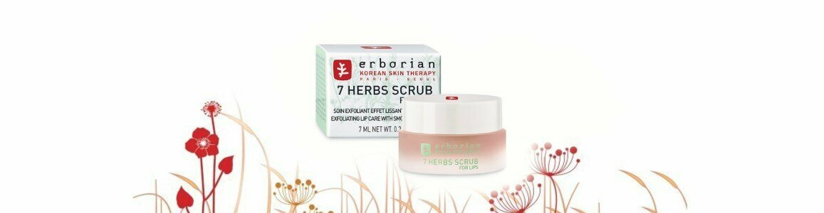 erborian herbs scrub lips esfoliante labios