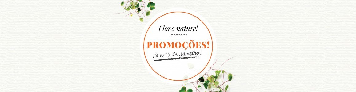 promocoes i love nature