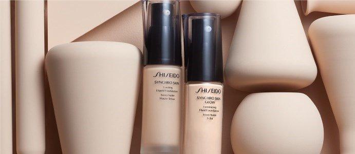 shiseido synchro skin glow base fluida luminosa