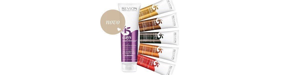 45 days total color care shampoo acondicionador