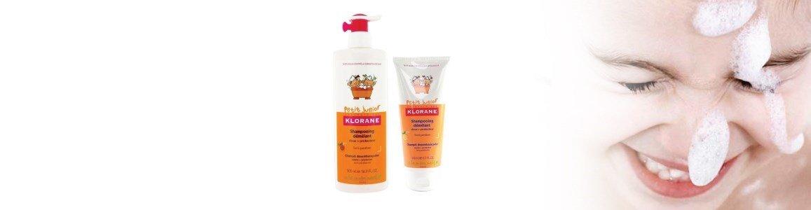 shampoo desembaracador pessego klorane
