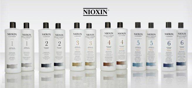 nioxin produtos shampoo