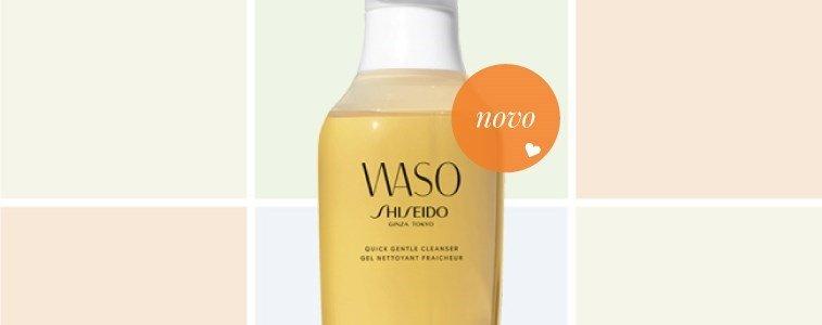 shiseido waso gel limpeza rapido suave mel