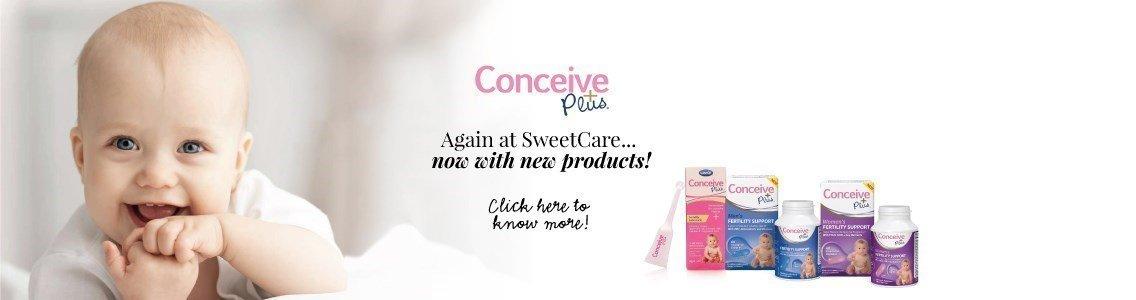 conceive plus novo na sweetcare novidades en