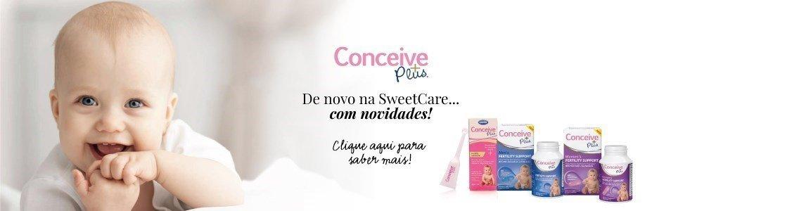 conceive plus novo na sweetcare novidades