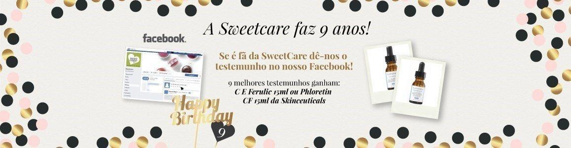 aniversario sweetcare 9 anos oferta facebook