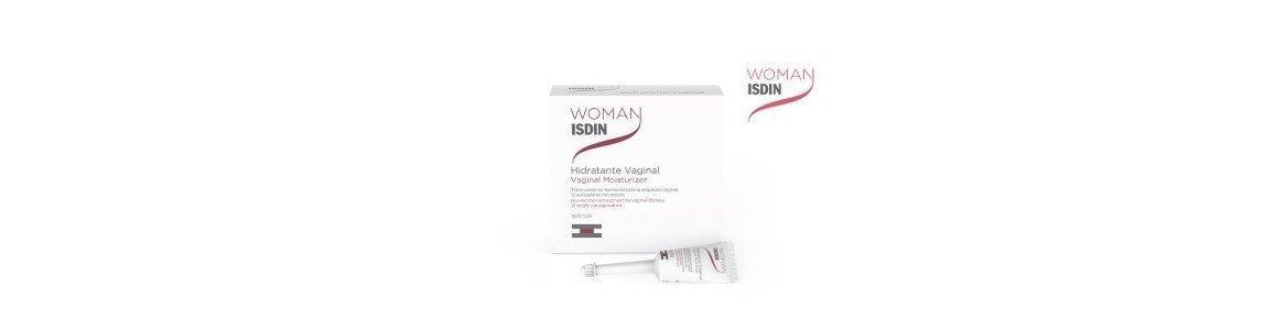 woman isdin gel creme hidratante mucosa vaginal 12x6ml