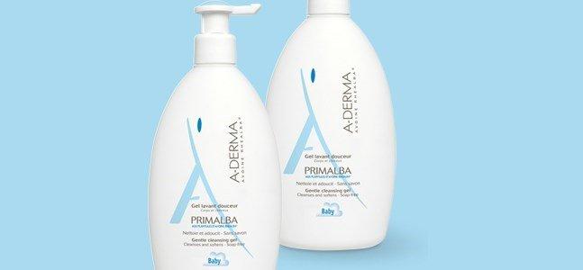 a derma primalba gel lavante suave corpo cabelo pele do bebe