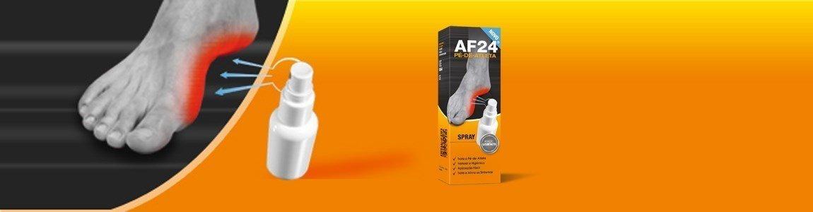 af24 spray aliviar os sintomas do pe atleta