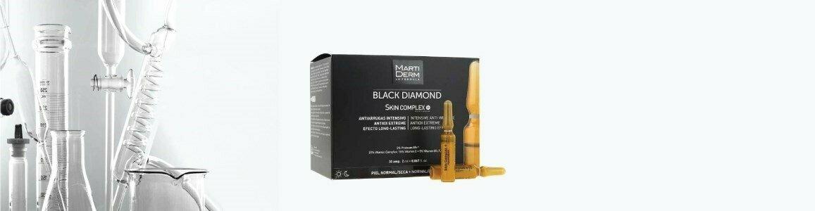 black diamond skin complex anti envelhecimento 10ampolas