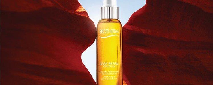 body refirm strech oil oleo refirmante tonificante biotherm