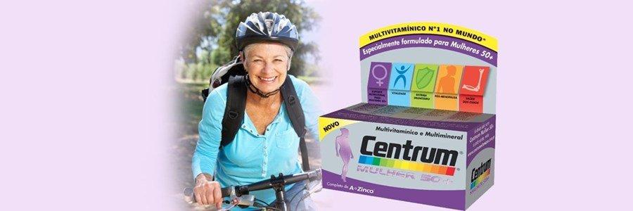 centrum mulher 50 mais