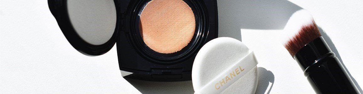 chanel les beiges cushion foundation gel touch spf25
