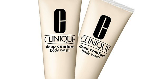 clinique deep comfort body wash