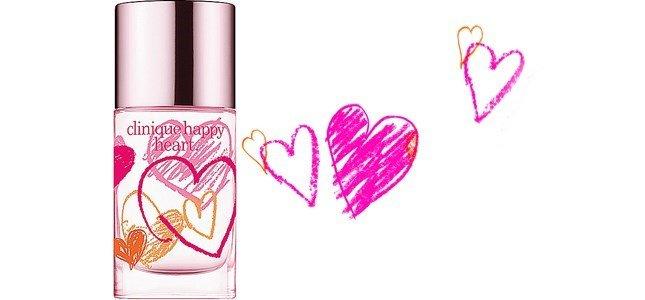 clinique happy heart perfume