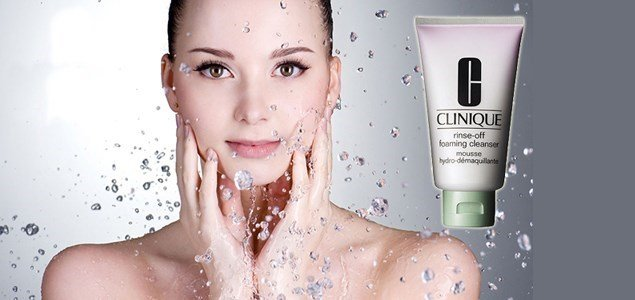 clinique rinse off foaming cleanser