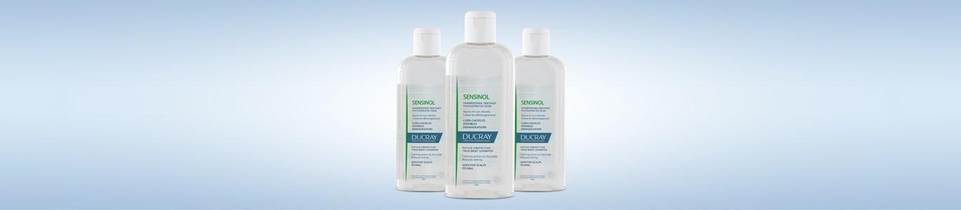 ducray sensinol champo couro cabeludo sensivel 200 ml