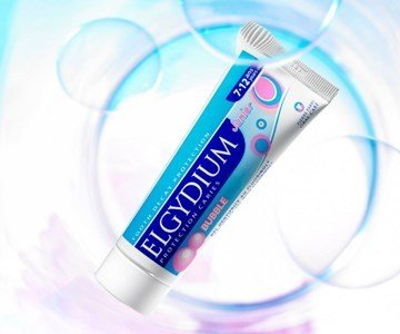 elgydium pasta dentifrica junior bubble
