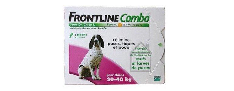 frontline combo spot 3 pipetas caes l 20 40 kg