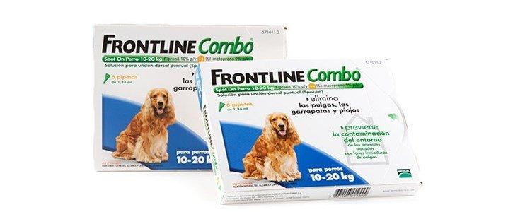 frontline combo spot 3 pipetas caes m 10 20 kg