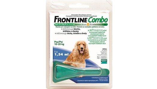 frontline combo spot monopipeta caes m 10 20 kg