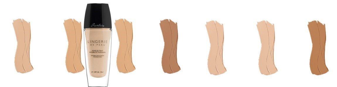 guerlain base fluida lingerie peau
