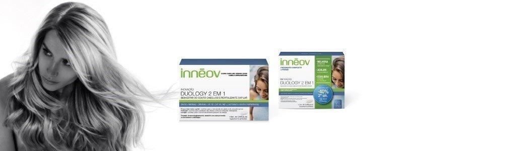 inneov duology 2 em 1 couro cabeludo sensibilizado cabelo fraco