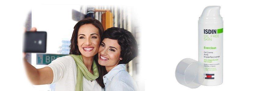 isdin everclean gel creme anti imperfeicoes