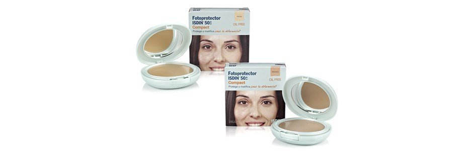 isdin fotoprotector base compacta oil free spf 50