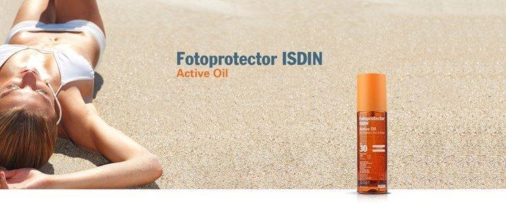 isdin fotoprotector oleo ativo spf 30