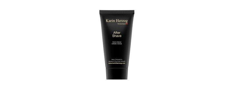 karin herzog after shave